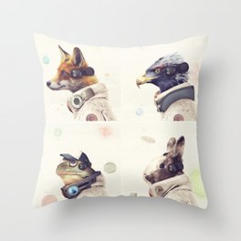 Star Team - Legends of Lylat Throw Pillow