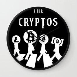 The Cryptos Abbey Road Wall Clock