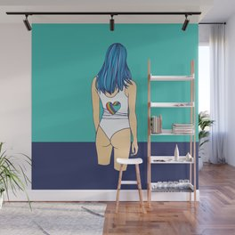 Blue Is the Warmest Color Wall Mural