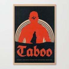 Taboo Alternative Poster Canvas Print