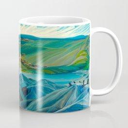Canadian Landscape Franklin Carmichael Art Nouveau Post-Impressionism A Northern Silver Mine, 1930 Coffee Mug