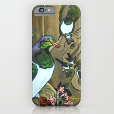 Pigeons, Parakeets and Fantails iPhone 6s Slim Case