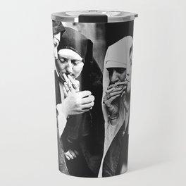 Smoking Nuns Travel Mug