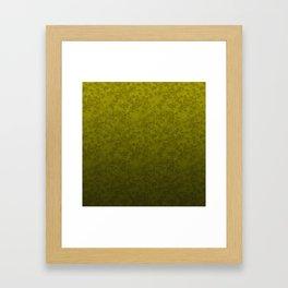 Olive marble Framed Art Print