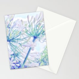 African Lilies (Agapanthus) Stationery Cards