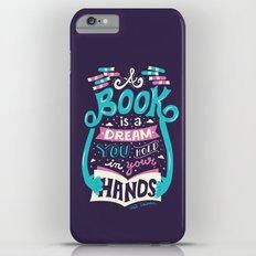Book is a dream iPhone 6 Plus Slim Case