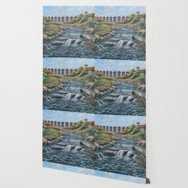 The Nine Arches, Tredegar Wallpaper
