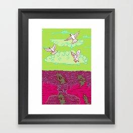 Peace & War Framed Art Print