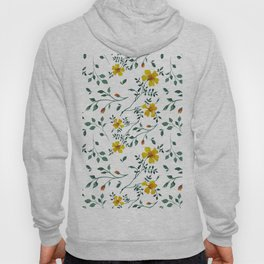 Little yellow flowers Hoody
