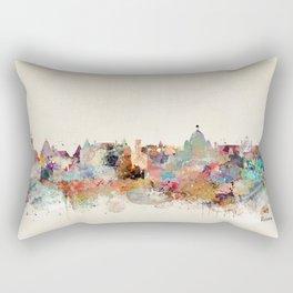 victoria canada skyline Rectangular Pillow