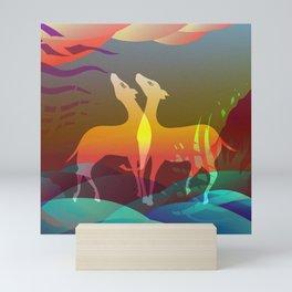 Space of Non-Duality Mini Art Print
