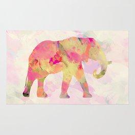 Abstract Elephant II Rug