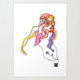 Anthousai - Flowering Nimph Art Print