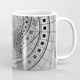 Fragmented Fractal Memories and Shattered Glass Coffee Mug