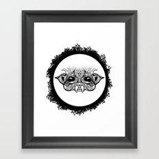 Half Creature Framed Art Print