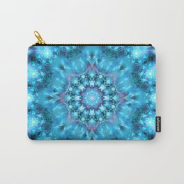 Cosmic Window Mandala Carry-All Pouch