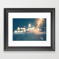 Own the Night Framed Art Print