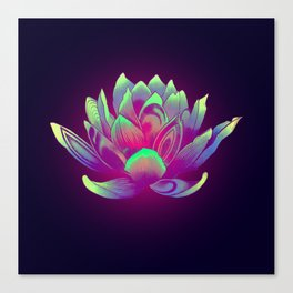 Lotus Vibes Canvas Print