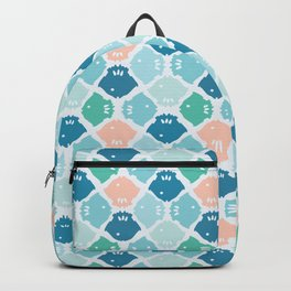 Bright Fish Silhouette Backpack