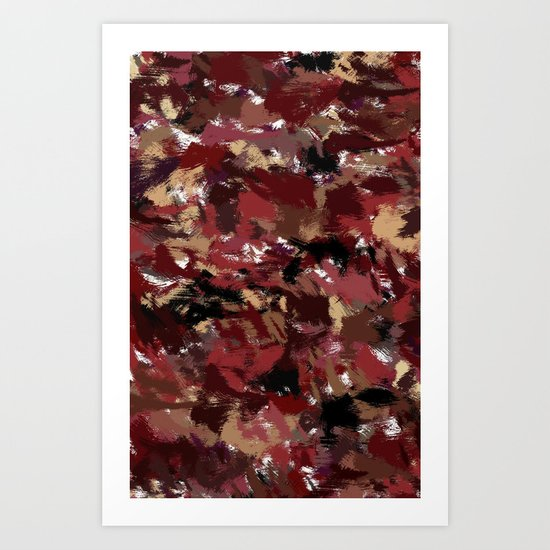 Leafs of Fall Art Print