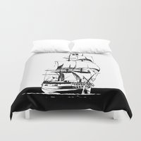 sail Duvet Covers featuring Sail by Roberto J. Viacava