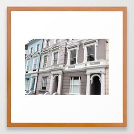 West London Framed Art Print