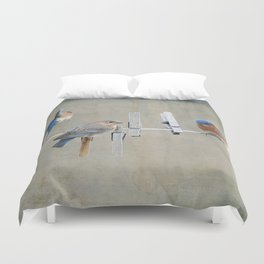 Laundry Day Duvet Cover