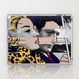 "Roy Lichtenstein's ""In the car"" & Marcello Mastroianni with Anita Ekberg in La Dolce Vita Laptop & iPad Skin"