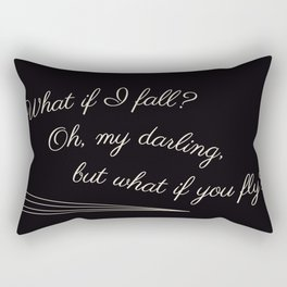 Oh Darling Rectangular Pillow