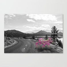 Unseen Monsters of Mount Shasta - Telitoptoo Lou Canvas Print
