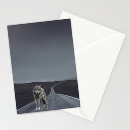 Road Wolf Stationery Cards