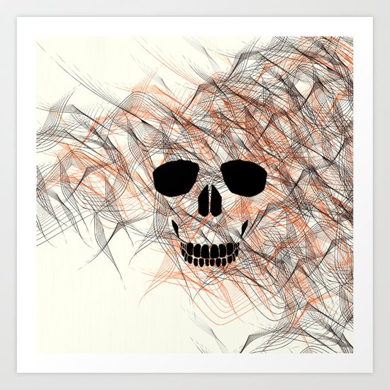 modern death Art Print