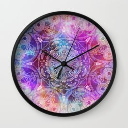 Spiritual Mantra #2 Wall Clock