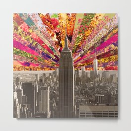 BLOOMING NY Metal Print