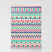 hearts Stationery Cards featuring Hearts by Lydia Meiying