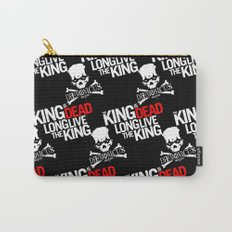 The King is dead. Long live the King. Carry-All Pouch