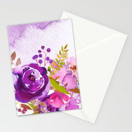 Flowers bouquet #46 Stationery Cards
