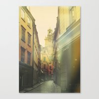 stockholm Canvas Prints featuring Stockholm by Viviana Gonzalez