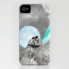 FUTURE IS BLUE iPhone (4, 4s) Slim Case