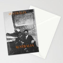 Ancestors, Cut-throats  Stationery Cards