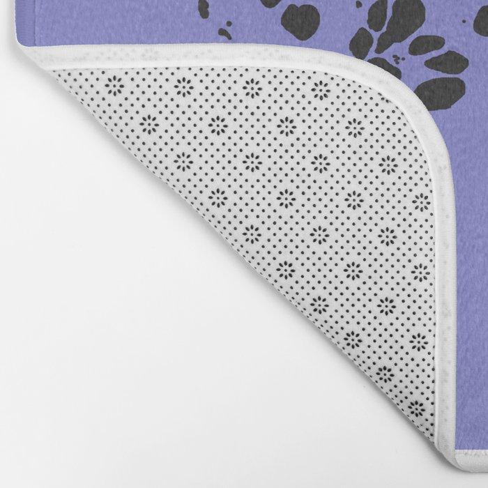 Dalmatian Spots Bath Mat