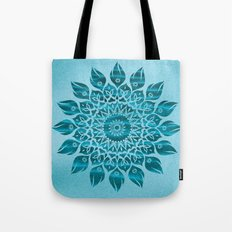Deep Meditation Mandala Tote Bag