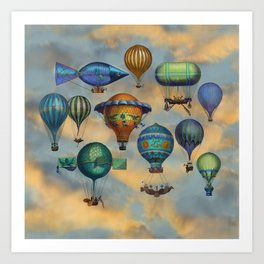 Aviation Flotation Art Print