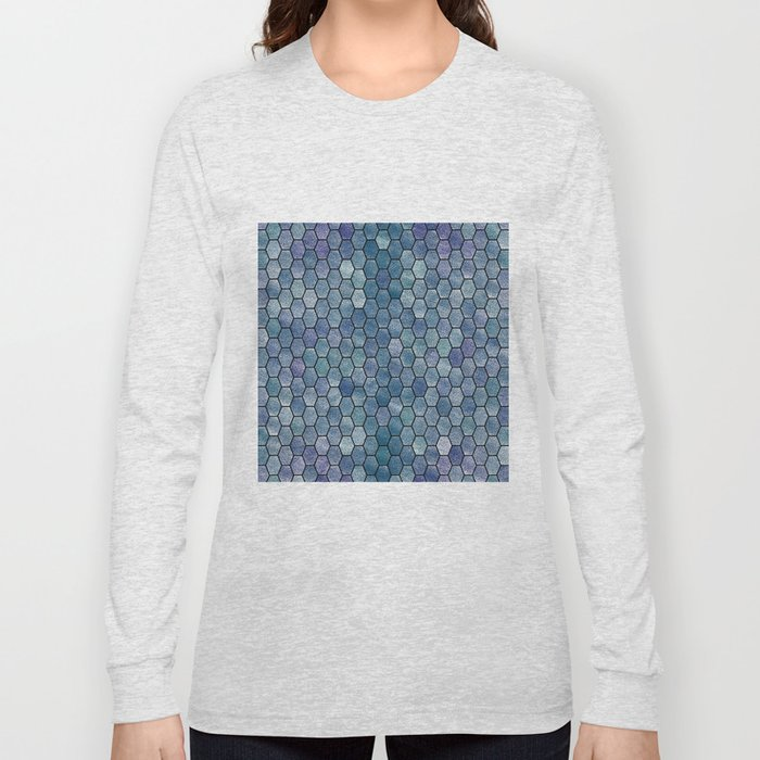 Glitter Tiles VI Long Sleeve T-shirt