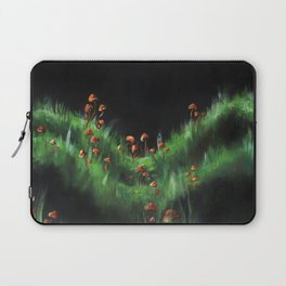 Meadow with Mushrooms and Moss: The Nude Laptop Sleeve