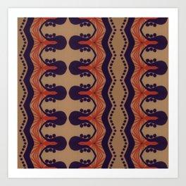 CECIL & NEVIL SERIES 3 Art Print