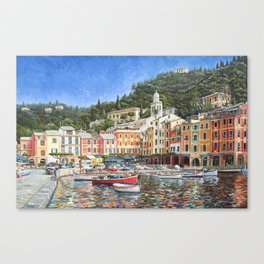 Portofino Italy Canvas Print
