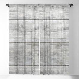 Wood Sheer Curtain