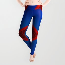 Abstract forms Leggings