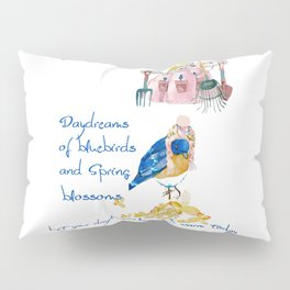 Daydreams of Spring Pillow Sham